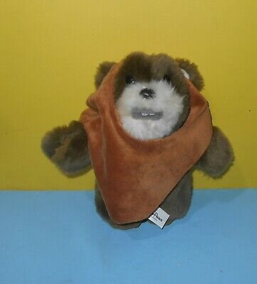 "Star Wars Authentic Original Disney Park Wicket W. Warrick EWOK 9"" Plush"