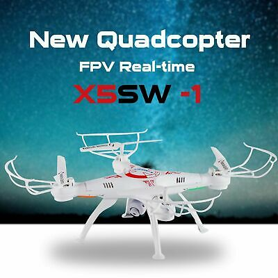 2.4G Drone with HD Camera WIFI FPV Altitude Hold RC Quadcopter Helicopter Hover