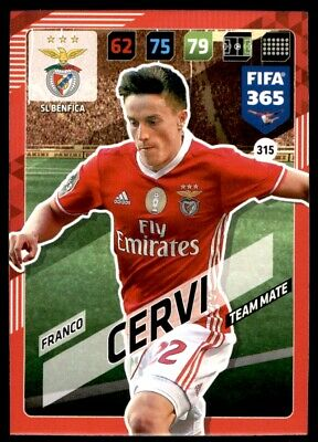 Panini 365 Adrenalyn XL 2018 - Franco Cervi SL Benfica No. 315