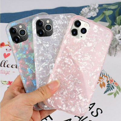 Slim Shockproof Glitter Marble Case Cover for iPhone 11 Pro Max 8 7 Plus XS XR 6