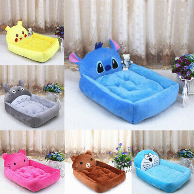 Cute Pet Dog Cat Bed Animal Sofa House Soft Mat Warm Kennel Cushion Puppy Pad