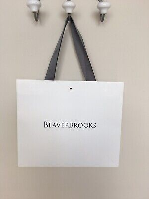 Beaverbrooks Shopping Jewellery White Bag Collector Gift Collector