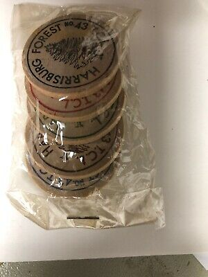 Vintage wooden nickel: New Harrisburg Tall Cedars 50th Anv, 1969 Complete Set