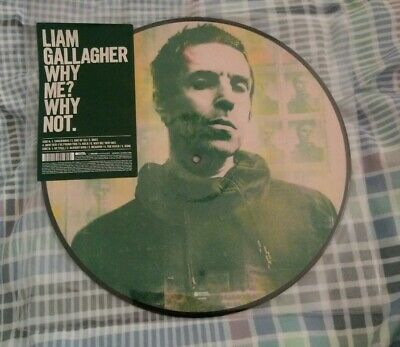 Liam Gallagher Why Me? Why Not Picture Disc Vinyl