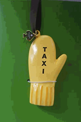 Kate Spade New York Taxi Mitten Holiday Christmas Ornament