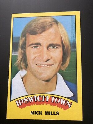 A&BC FOOTBALL CARD 1974 RED BACK No10