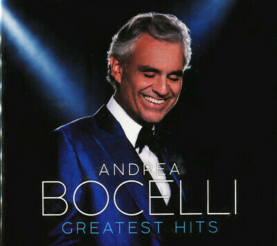 ANDREA BOCELLI - Greatest Hits Collection Music 2CD set