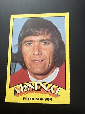 A&BC FOOTBALL CARD 1974 RED BACK No115