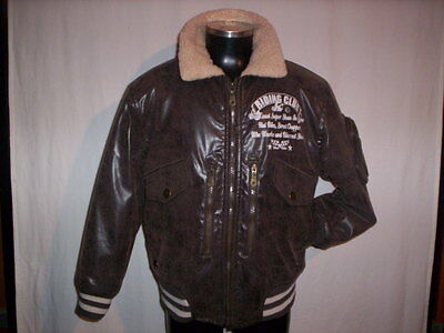 Jacket Jacket Bomber Wampum Wpm Child Boy Jacket Jacket Brown SIZE S