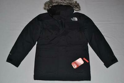 The North Face Mens Mcmurdo Parka Iii Black S Small  Brand New Authentic