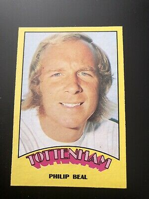 A&BC FOOTBALL CARD 1974 RED BACK No107