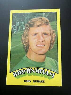 A&BC FOOTBALL CARD 1974 RED BACK No50