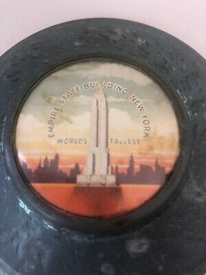 VINTAGE EMPIRE STATE BUILDING NEW YORK CITY NYC WORLD'S TALLEST BUILDING Souv