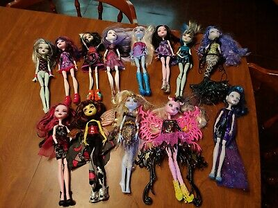 Mattel Monster High Doll Lot Dolls