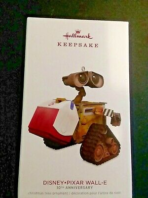 Hallmark 2018 Keepsake Ornament Disney Pixar Wall -E  10th Anniversary