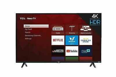 """TCL 50S425-CA 4K Ultra HD Smart LED Television (2019), 50"""" 50 inches TV Only"""
