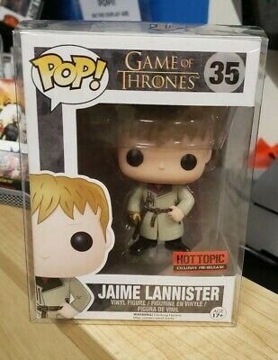 Funko POP! #35 Game of Thrones Jaime Lannister Gold Hand Hot Topic Exclusive