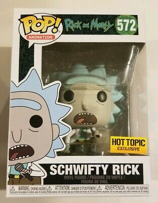 SCHWIFTY RICK Funko Pop Animation #572 Hot Topic Exclusive