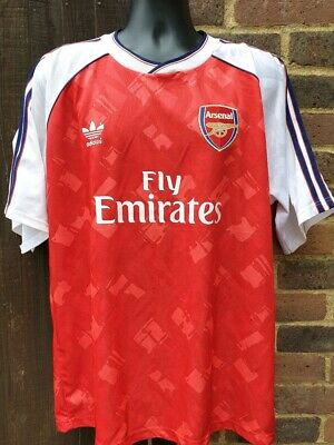 Arsenal 1990 / 2019 Home Football Shirt Mash Up Jersey - XL