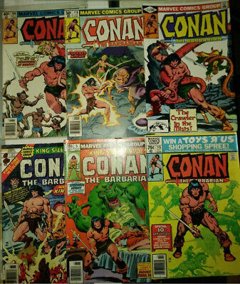 Conan Red Sonja Marvel 37 Comics Bulk Lot