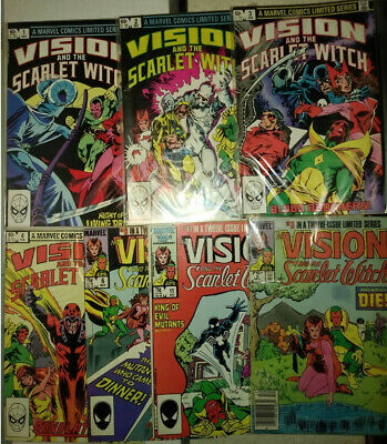 Marvel Vision Scarlet Witch Hawkeye Hercules Cloak Strange 38 Bulk Lot Comics