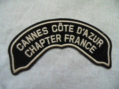 Harley-Davidson Patch Collector Hog Cannes Côte D'azur Chapter France
