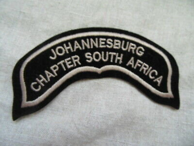 Harley-Davidson Patch Collector Hog Johannesburg Chapter South Africa