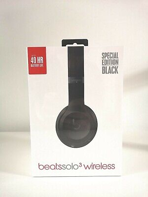 Beats Solo3 Wireless Headphones - Special Edition Black (New & Sealed)