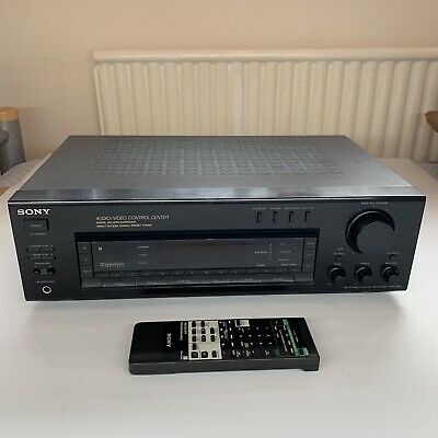 Sony STR-D615 Audio/video Control Center With Remote RM-P342 Good Working Order