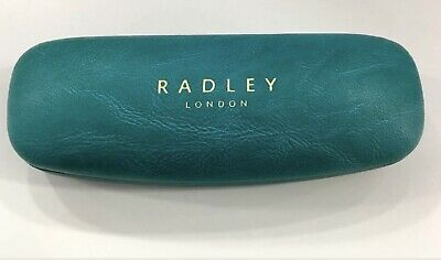 Radley Glasses Spectacle hard case & Cloth Turquoise Green NEW
