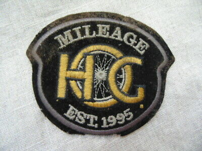 Harley Davidson Patch Collector Hog Mileage Est. 1995