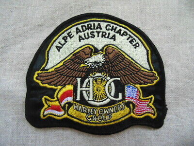 Harley Davidson Patch Collector Hog Alpe Adria Chapter Austria