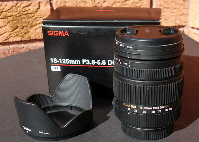 Sigma 18-125mm DC HSM lens for Pentax