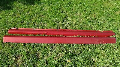 Renaultsport Clio 172, 182 Side Skirts. Flame Red