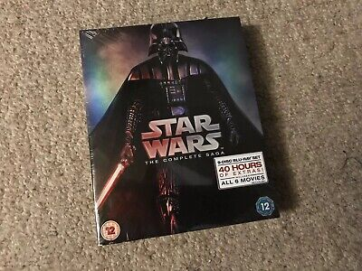 Star Wars - The Complete Saga (Blu-ray) Harrison Ford, Ewan McGregor