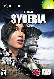 Syberia (Microsoft Xbox, 2003) works   no manual