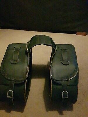 Held leather saddlebags panniers