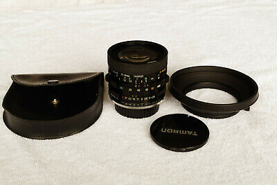 Tamron Adaptall 2 28-50mm f.3.5/4 with Pentax K Mount and Lens Hood in Pouch