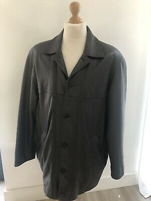 """Mens Douglas Brown Leather Jacket - 42"""" Chest - Very Good condition"""
