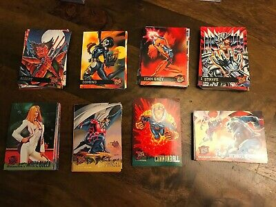 1995 Fleer Ultra X-Men FULL Base Set Complete 150 Marvel Cards
