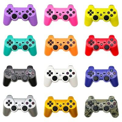 Wireless Bluetooth Controller Gamepad Joystick For Sony PS3 + USB Cable UK