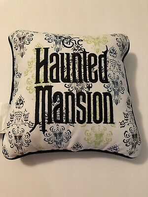 Disneyland Disney Parks Haunted Mansion Decorative Throw Pillow New With Tags