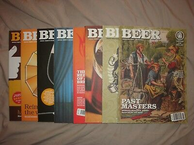 Camra Beer Magazine issues 15, 19, 26, 30, 37, 38, 39, 40