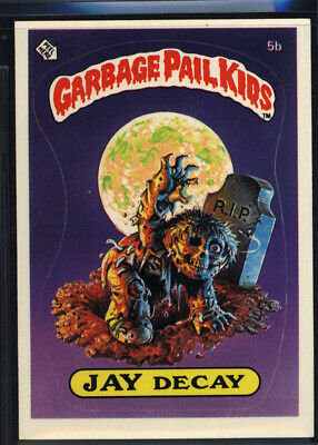 1985 Topps Garbage Pail Kids 1st Series #5b Jay Decay (NM/MT) *699086