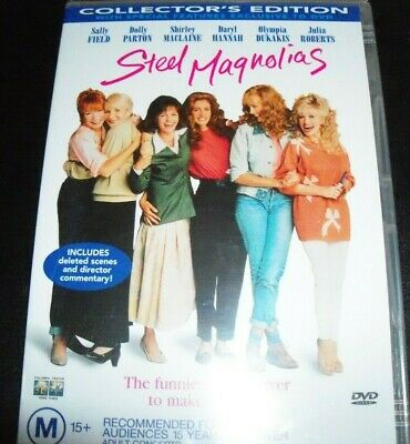 Steel Magnolias (Sally Field Dolly Parton Julia Roberts (Aust Region 4) DVD NEW