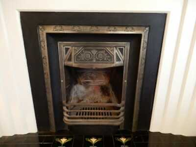 Fireplace - Cast Iron Fireplace from Art Deco home, now removed, 6l