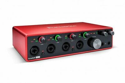 Focusrite Scarlett 18i8 3rd Gen USB Audio Interface with Pro Tools First
