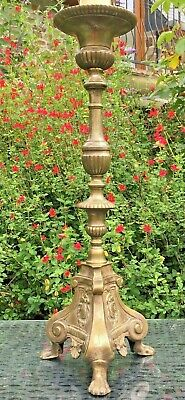 LARGE CHURCH STYLE Table Lamp bedside LAMP BRONZE STYLE FINISH Light 74 CM HIGH