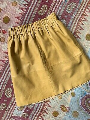 Gorman Ladies Leather Skirt Size 6