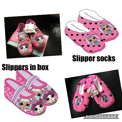 Lol surprise slippers, shoes girls brand new in box sizes 8-13